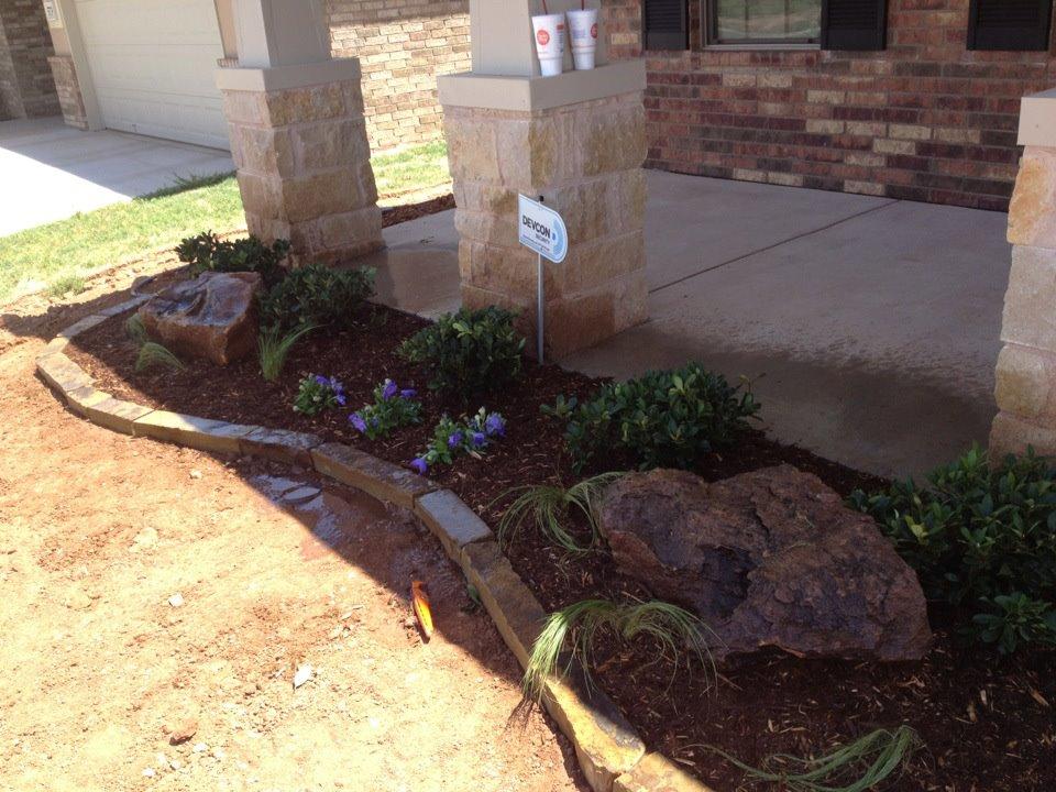Lubbock Texas Residential Landscape Design