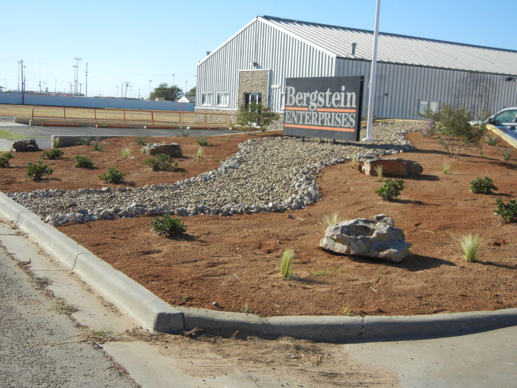 Lubbock Texas Commercial Landscape Design